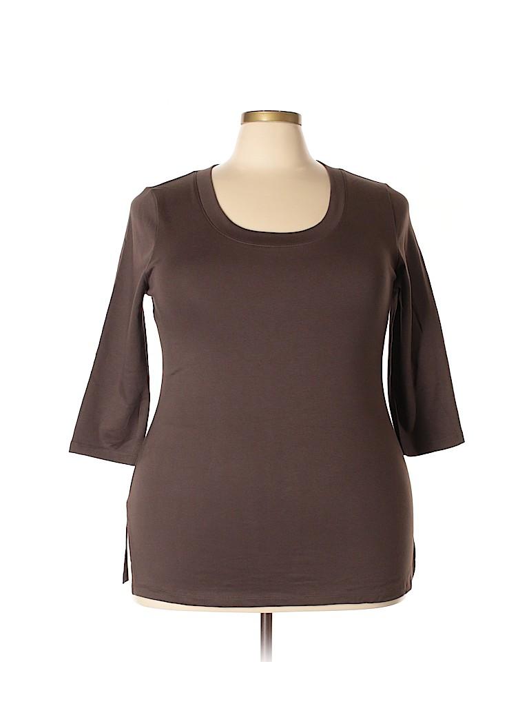 Venezia Women 3/4 Sleeve T-Shirt Size 18/20 Plus (Plus)