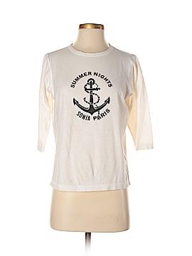 Sonia by Sonia Rykiel 3/4 Sleeve T-Shirt Size S
