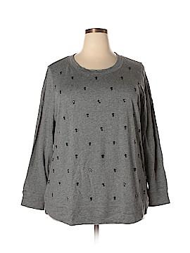 Sejour Sweatshirt Size 2X (Plus)