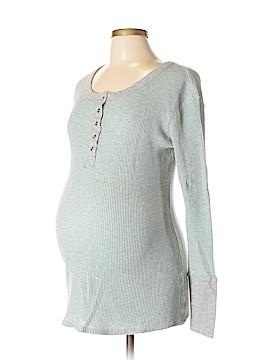 Liz Lange Maternity for Target Long Sleeve Henley Size L (Maternity)