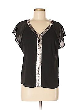Lucy Paris Short Sleeve Blouse Size M
