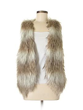 Paper Dolls Faux Fur Vest Size S