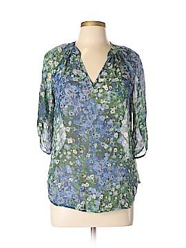 Fei 3/4 Sleeve Silk Top Size 6
