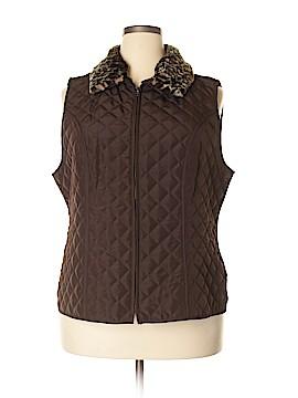 I.N. Studio Vest Size 1X (Plus)
