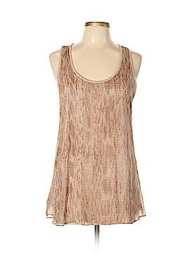 Drew Sleeveless Silk Top Size L
