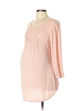Liz Lange Maternity for Target Long Sleeve Blouse Size L (Maternity)