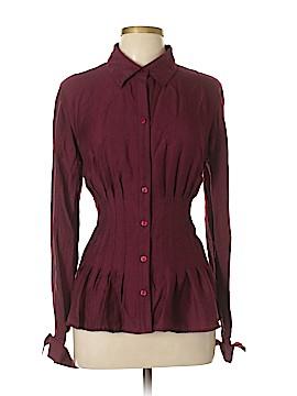 Coldwater Creek Long Sleeve Button-Down Shirt Size L