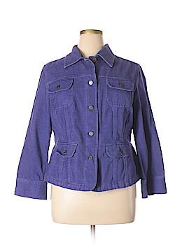 J.jill Denim Jacket Size 1X (Plus)