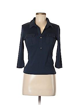 Saint James 3/4 Sleeve Button-Down Shirt Size 6