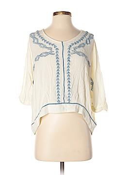 Tea & Cup 3/4 Sleeve Blouse Size S