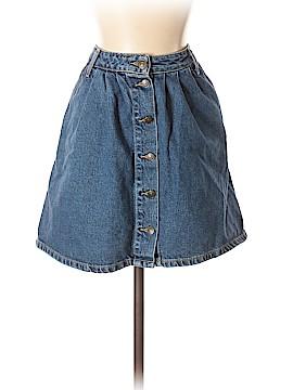 Zara Basic Denim Skirt Size S