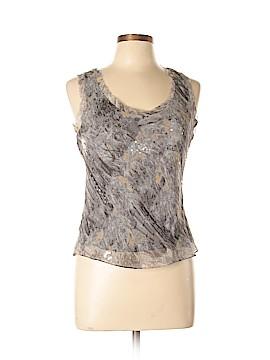 Anne Klein Sleeveless Silk Top Size 10
