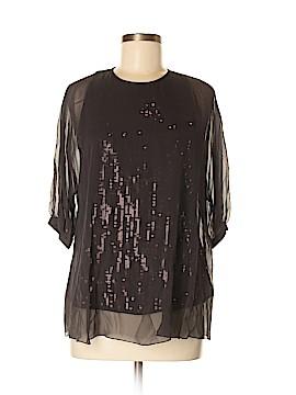 Elie Tahari 3/4 Sleeve Silk Top Size M