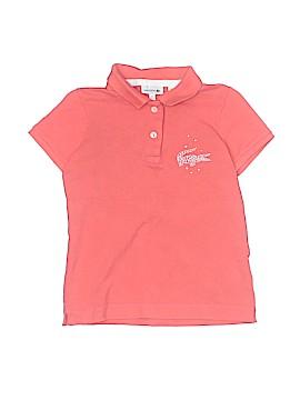 Lacoste Short Sleeve Polo Size 8