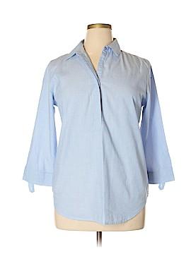 Grand & greene 3/4 Sleeve Button-Down Shirt Size L