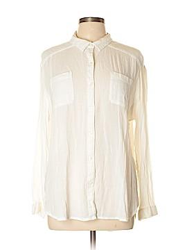 Lucky Brand Long Sleeve Button-Down Shirt Size L
