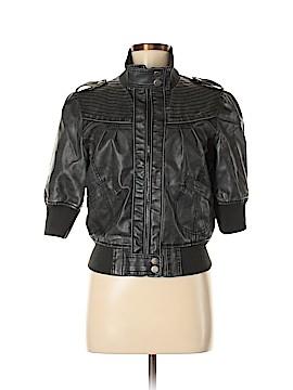 Paris Blues Faux Leather Jacket Size L