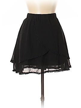 LUXE Silk Skirt Size L