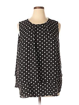 Roz & Ali Sleeveless Blouse Size 1X (Plus)