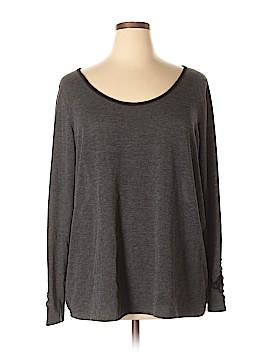 Lavish Long Sleeve Top Size 3X (Plus)