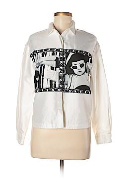 Urban Renewal Long Sleeve Button-Down Shirt Size M
