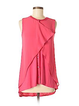 August Silk Sleeveless Top Size S