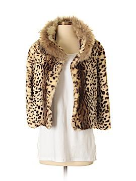 Adrienne Landau Faux Fur Jacket Size S