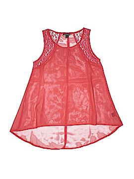 Fashion Web Sleeveless Blouse Size M