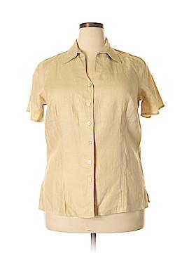 Bridgewater Studio Short Sleeve Button-Down Shirt Size 14w