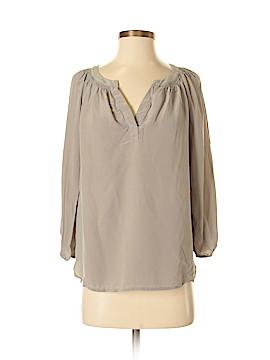 Max Studio 3/4 Sleeve Silk Top Size S