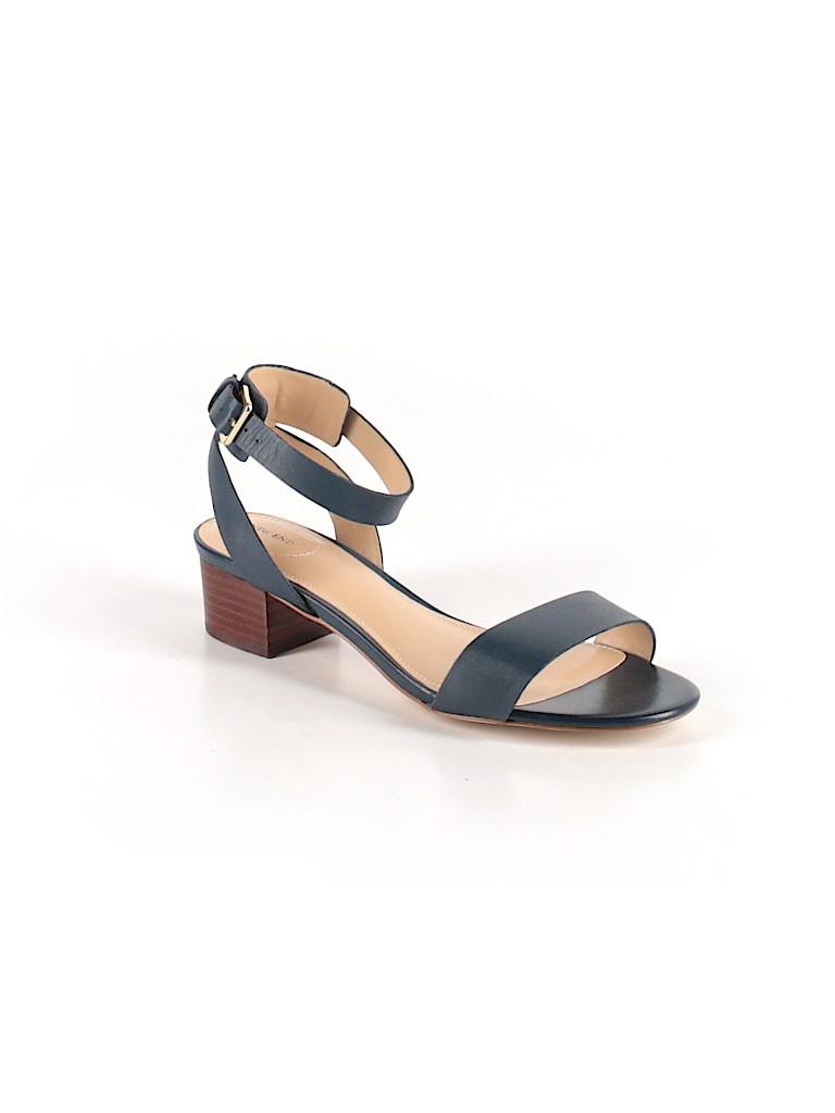 0de066b9be1 Lands  End Solid Navy Blue Sandals Size 7 - 36% off