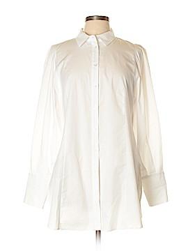 Maeve Long Sleeve Button-Down Shirt Size 12 (Petite)