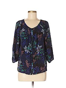 Yumi Kim 3/4 Sleeve Silk Top Size M
