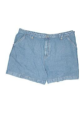 Cj Banks Denim Shorts Size 24 (Plus)