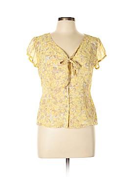 Ann Taylor LOFT Short Sleeve Blouse Size 10 (Petite)