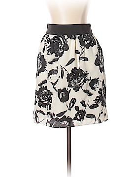 Ann Taylor LOFT Silk Skirt Size 4