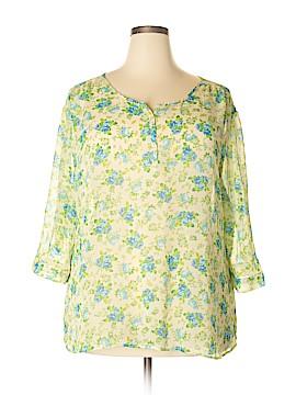 Bobbie Brooks 3/4 Sleeve Blouse Size 3X (Plus)