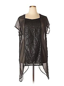 Isabel Toledo for Lane Bryant Short Sleeve Blouse Size 18 - 20 (Plus)
