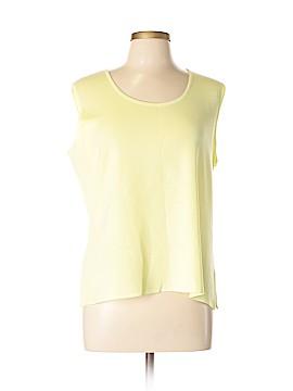 MING WANG Sleeveless Top Size XL