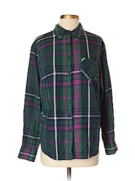 Ava & Viv Long Sleeve Button-Down Shirt Size X (Plus)