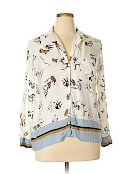 Zara Collection Long Sleeve Blouse Size XL