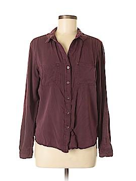 Rock & Republic Long Sleeve Button-Down Shirt Size M