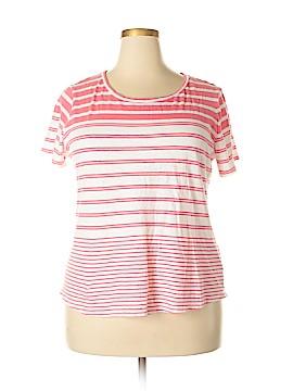Crown & Ivy Short Sleeve T-Shirt Size 2X (Plus)