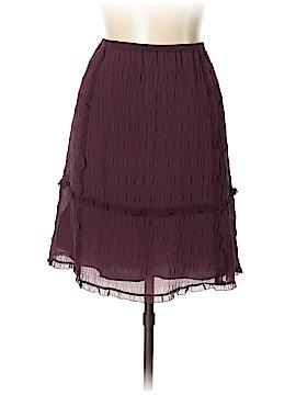 Max Studio Silk Skirt Size L