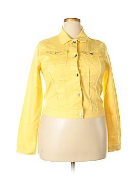Milly Denim Jacket Size 3X (Plus)