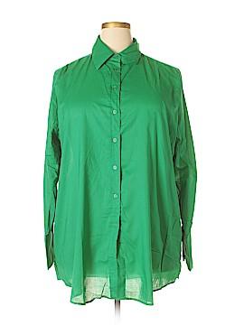 Kim Parrish Collection Long Sleeve Button-Down Shirt Size 2X (Plus)