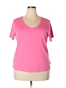 IZOD Short Sleeve T-Shirt Size 1X (Plus)