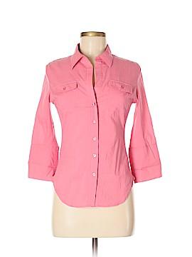 Cherish 3/4 Sleeve Button-Down Shirt Size M