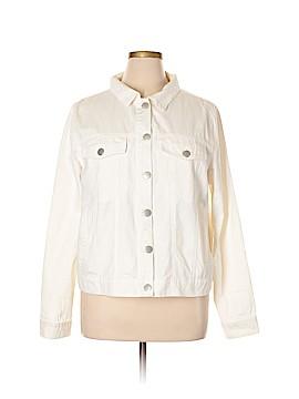 Forever 21 Denim Jacket Size 2X (Plus)