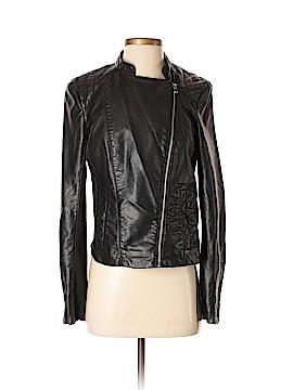 INC International Concepts Faux Leather Jacket Size S